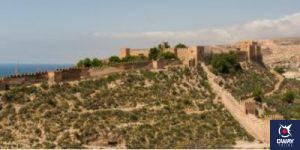 Panoramic view of the Alcazaba of Almería