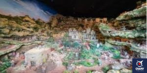 Nativity scene portal of the Malaga contest