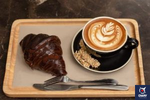Coffe and croissant