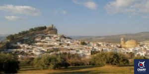 Incredible views of the village of Montefrío in Granada