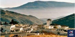 Pampaneira among the Sierra Nevada mountains in Granada