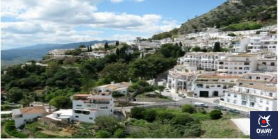 Views of one of the most beautiful villages in Málaga