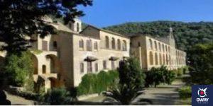 Vista de la fachada del monasterio de San Jerónimo de Valparaíso en Córdoba