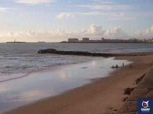 Espigón de la Playa de la Victoria, Cádiz
