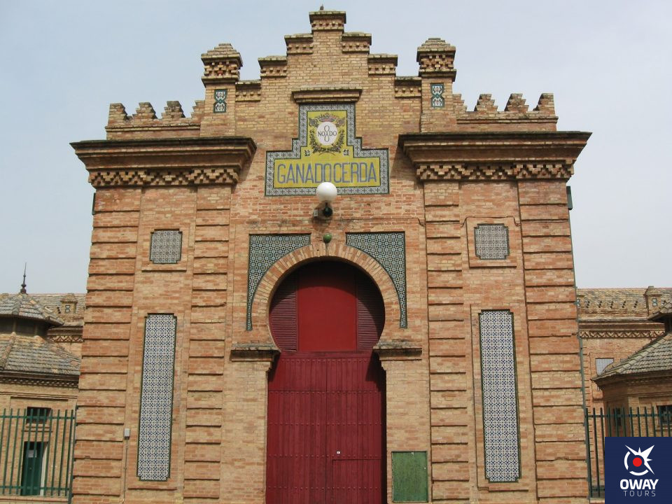 Puerta ubicada en la zona Oeste del Antiguo Matadero de Sevilla