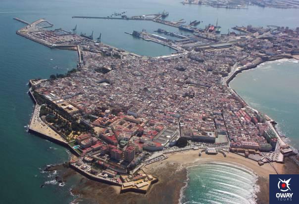 Vista del Puerto de Cádiz