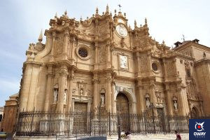 Fachada de la Catedral de Guadix_Guadix