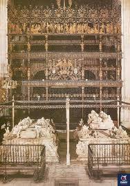 Tumbas de los reyes católicos, interior de la Capilla Real de Granada