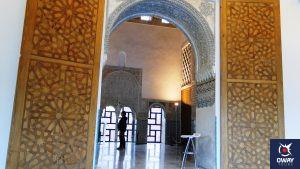 Interior del Cuarto Real de Santo Domingo de Granada