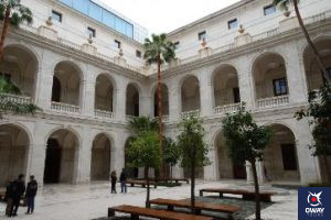 Museum of Malaga Courtyard