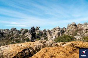 Hiking in el Torcal