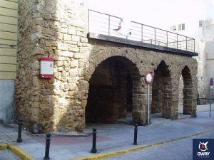 Arco de los Blancos, Barrio del Pupulo de Cádiz