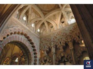 Las cubiertas y cúpulas de la Maqsura