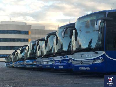 Autobuses ALSA a Granada