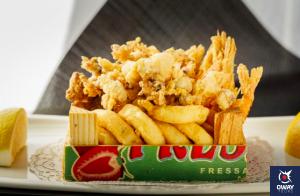 """Fotografía de una ración de """"pedacito frito"""" típico de Cádiz"""