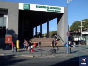 Fachada de Plaza de Armas