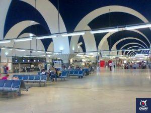 Aeropuerto de Sevilla por dentro