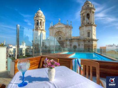 Vista de la Catedral desde un hotel