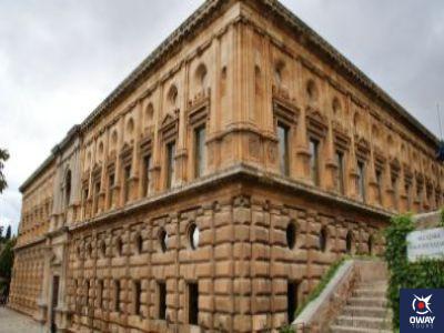Punto de información de la Alhambra.