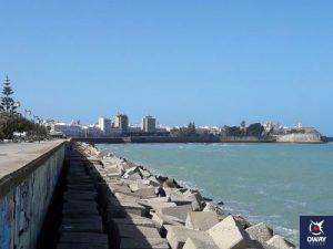 Playa de San Felipe en Cádiz