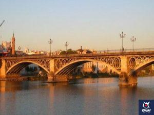 atardecer puente triana