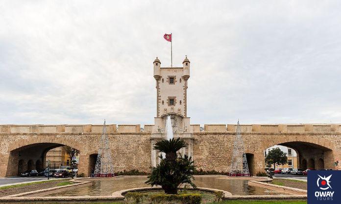 puerta de tierra Cádiz