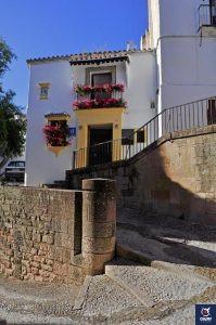 Entrada hotel Ronda