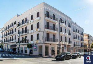Exterior del hotel Sevilla en Ronda