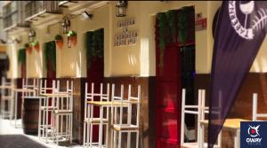 Terraza del bar la Carbonera, Cadiz