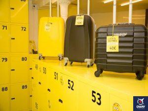 Lugar donde dejar las maletas