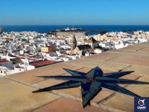 Cádiz desde el mirador de la Torre de Tavira