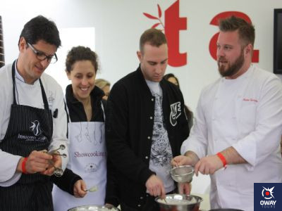 Taller de paellas y show cooking