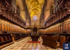 Detalle interior Catedral Sevilla