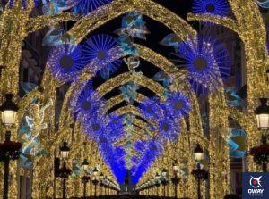 Lumières de Noël à Malaga