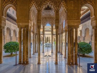 El patio de los Leones Granada