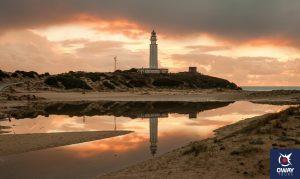 Atardecer Faro de Trafalgar