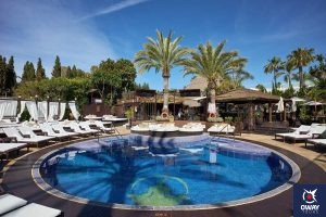 Swimming pool at La Sala by The Sea in Marbella