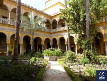Main Courtyard of the House of the Dueñas in Seville