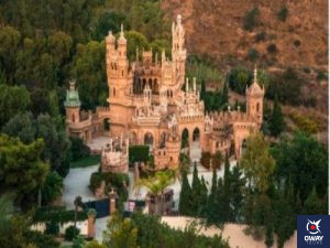 Partes del Castillo de Colomares