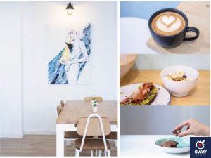 Ambiente relajado y tranquilo en Perspectives Café en Granada