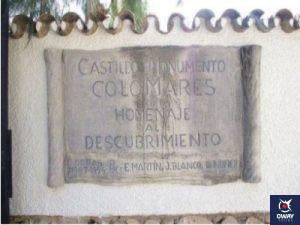Placa del Castillo de Colomares