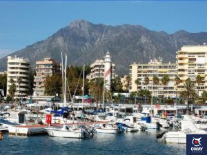 The luxury of Puerto Banús in Marbella