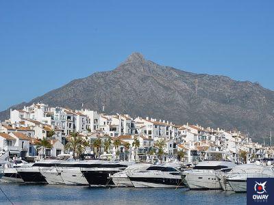 Characteristic landscape of Marbella