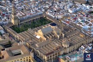 Mezquita de Córdoba vista alzado