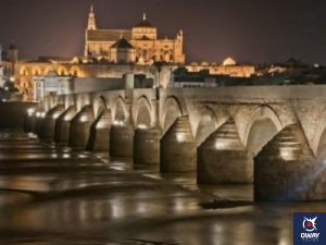 Pont romain et mosquée de Cordoue