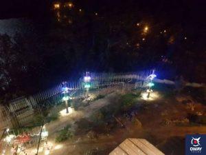 Parque de noche