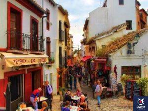 Calle peatonal (Granada)