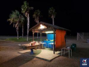 """Bar de plage """"Las Acacias"""""""