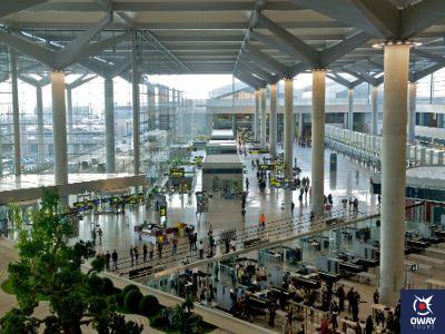 Cómo ir del aeropuerto al centro de Málaga