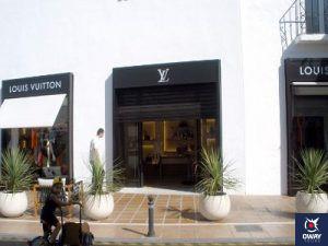 Tienda de lujo, Louis Vuitton en Marbella